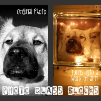 Photograph Glass Blocks