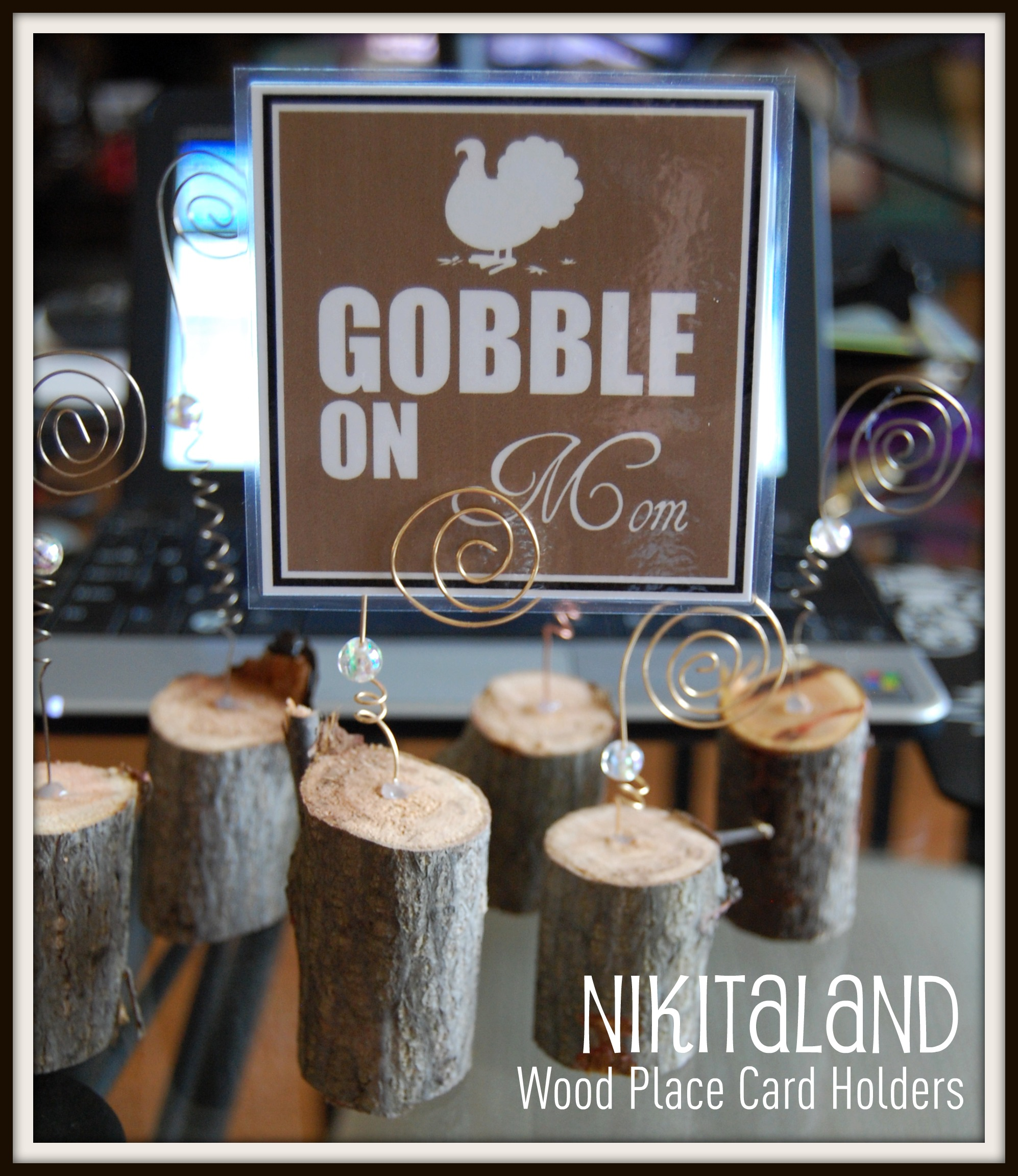 How To Make Creative Thanksgiving Place Card Holders For