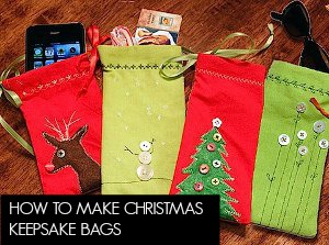 Christmas Keepsake Bagss