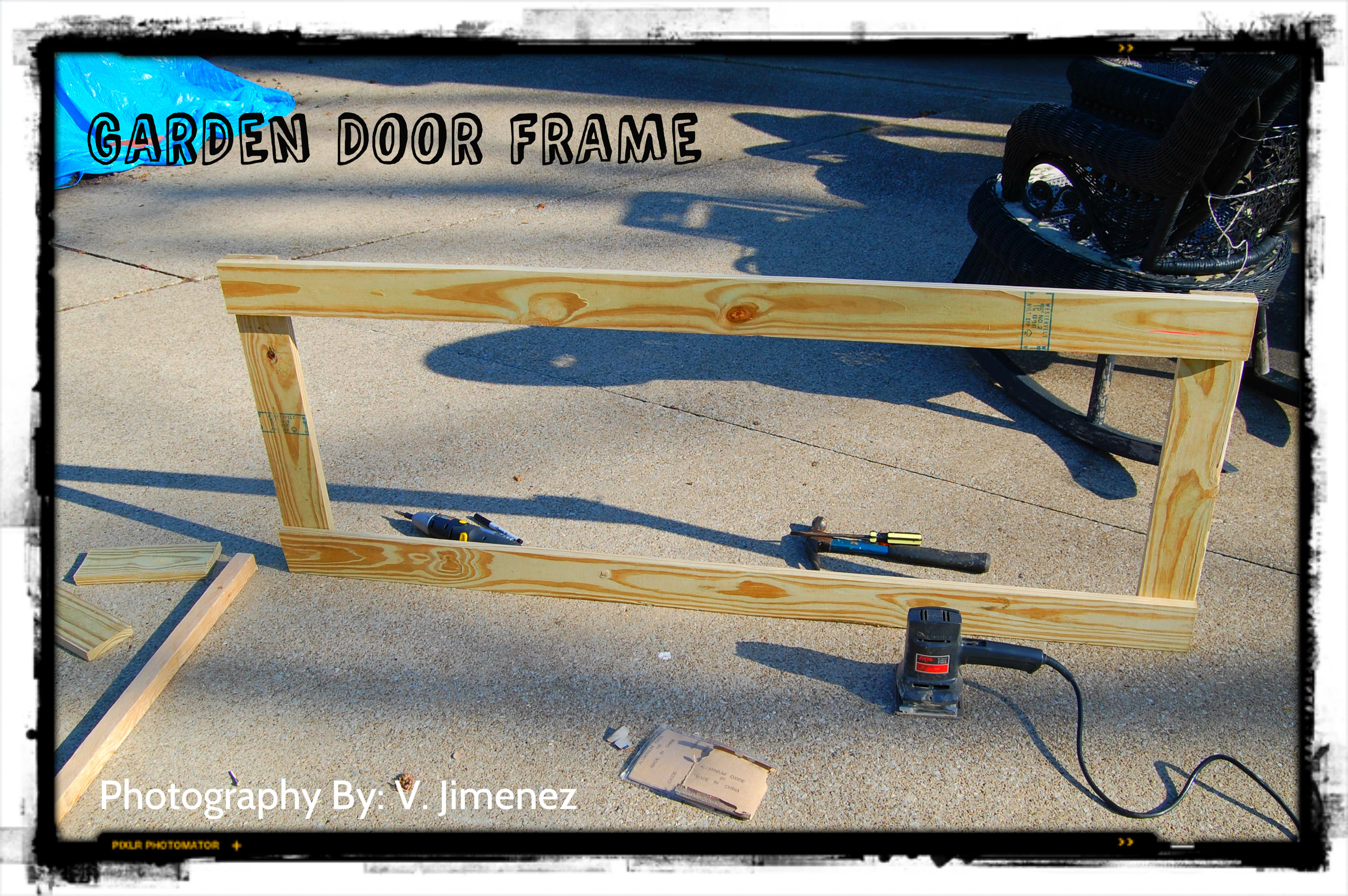 Building A Garden Gate Door
