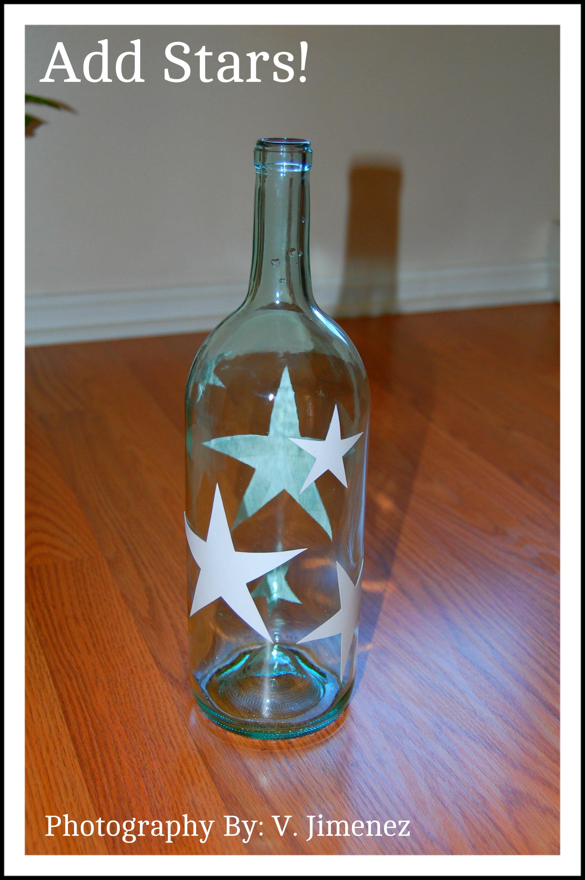 Craft lights for wine bottles - Maison Newton Make A Wine Bottle Light Without Drilling