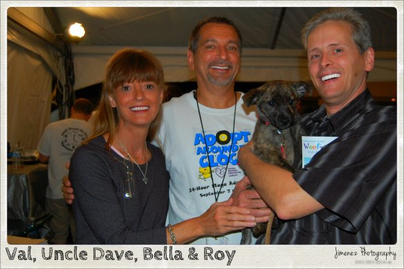 Val Uncle Dave Bella and Roy
