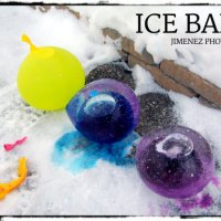 Colored Ice Balls