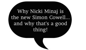 Nicki Minaj Speech Bubble