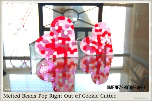 POPS OUT OF COOKIE CUTTER