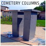 DIY Cemetery Columns
