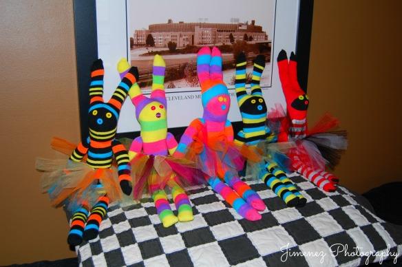 Sock Bunnies Lineup