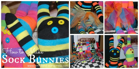 Sock Bunny Collage2