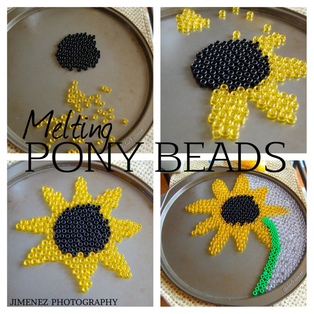 Experimenting With Melting Pony Beads (1/4)