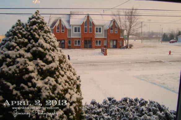 APRIL 2 2013 SNOW