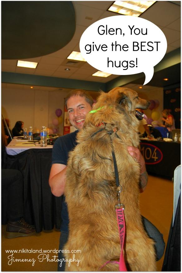 HUGS FROM GLEN