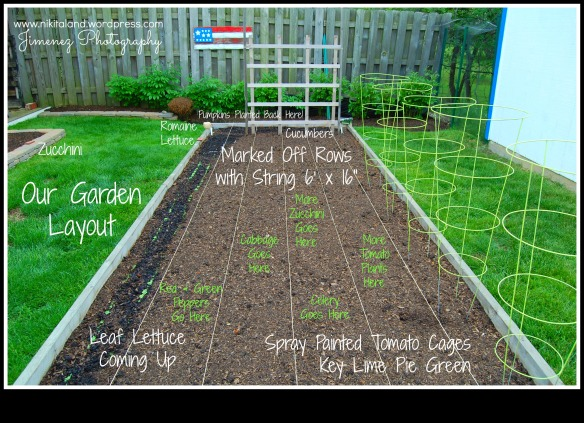Click on photo to enlarge to read our garden markers