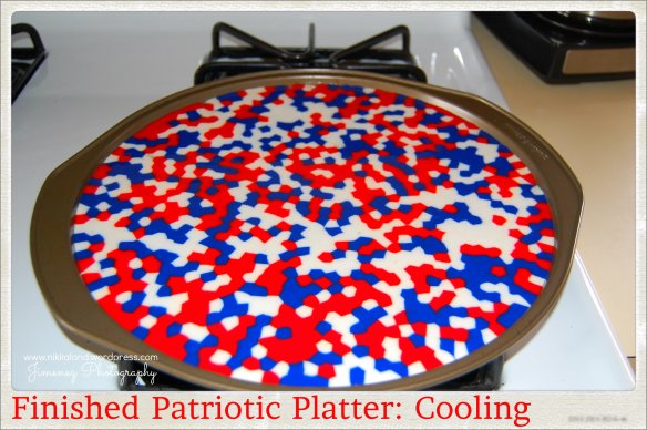 PIZZA PAN PATRIOTIC PLATTER COOLING