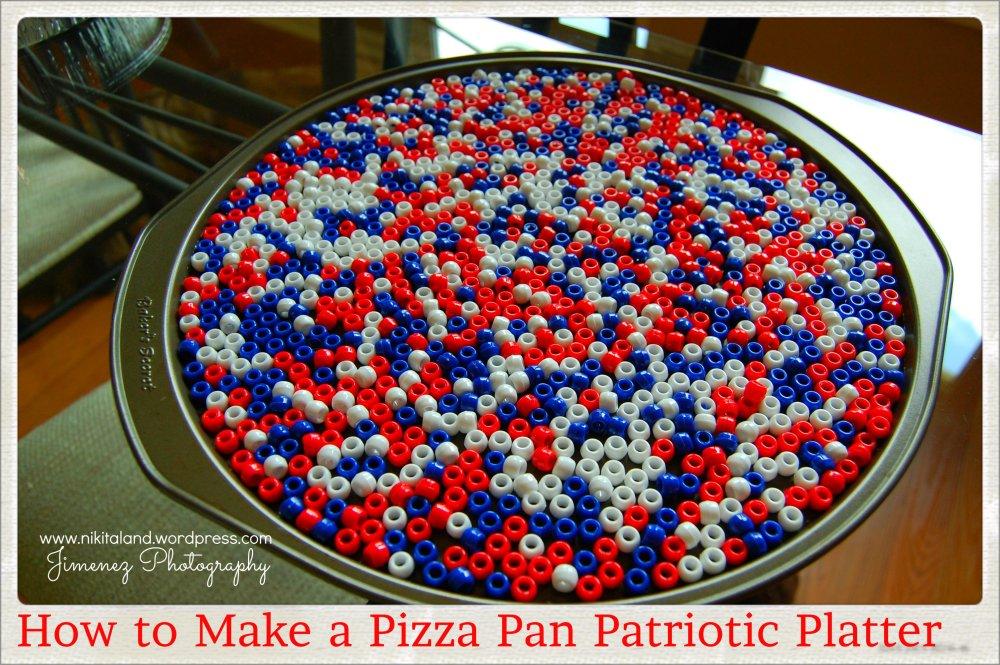 Pizza Pan Patriotic Platter (1/6)