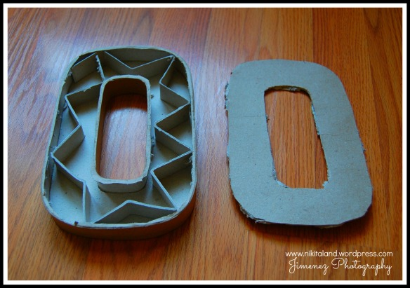 PULL OUT INSIDES FROM CARDBOARD LETTER