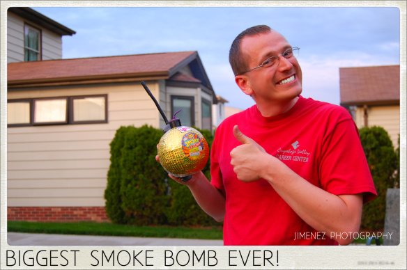 BIGGEST SMOKE BOMB EVER