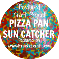PIZZA PAN SUN CATCHER 200 x 200