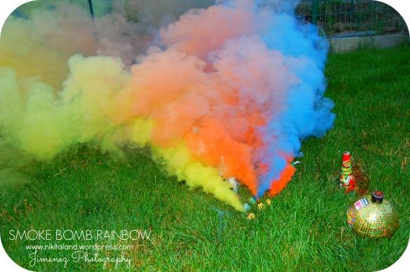 SMOKE BOMB RAINBOW