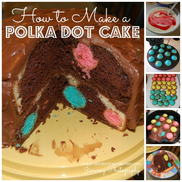 HOW TO MAKE A POLKA DOT CAKE TODAY