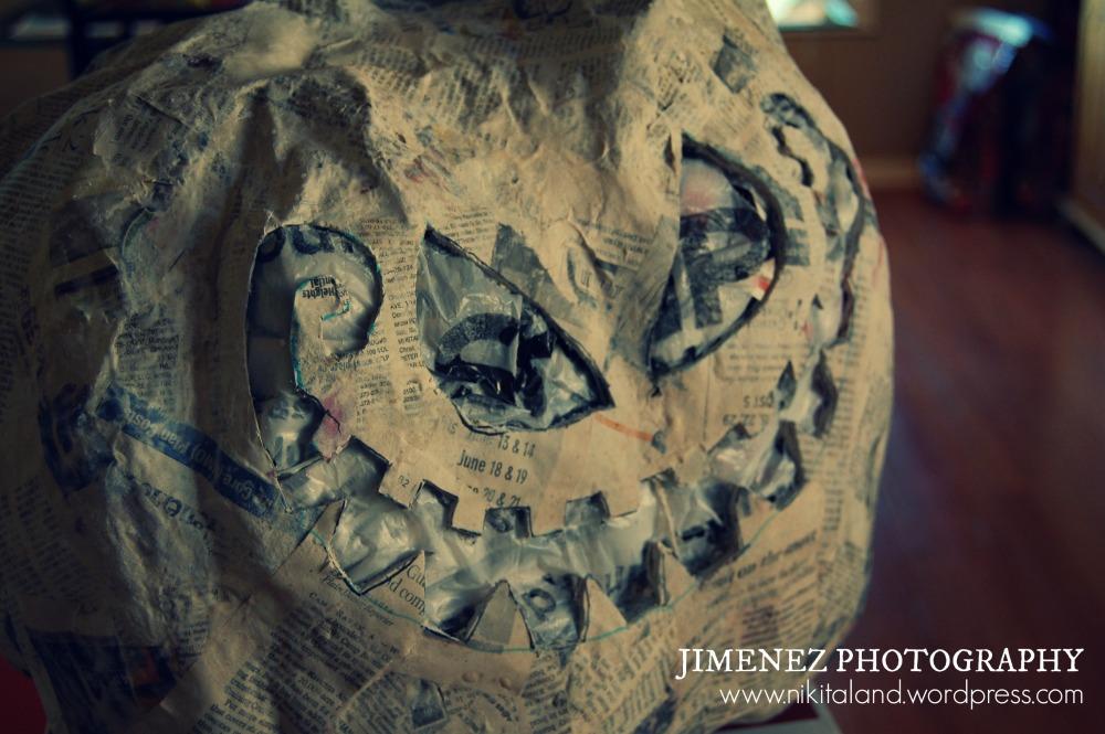 Paper Mache Halloween Projects (1/4)