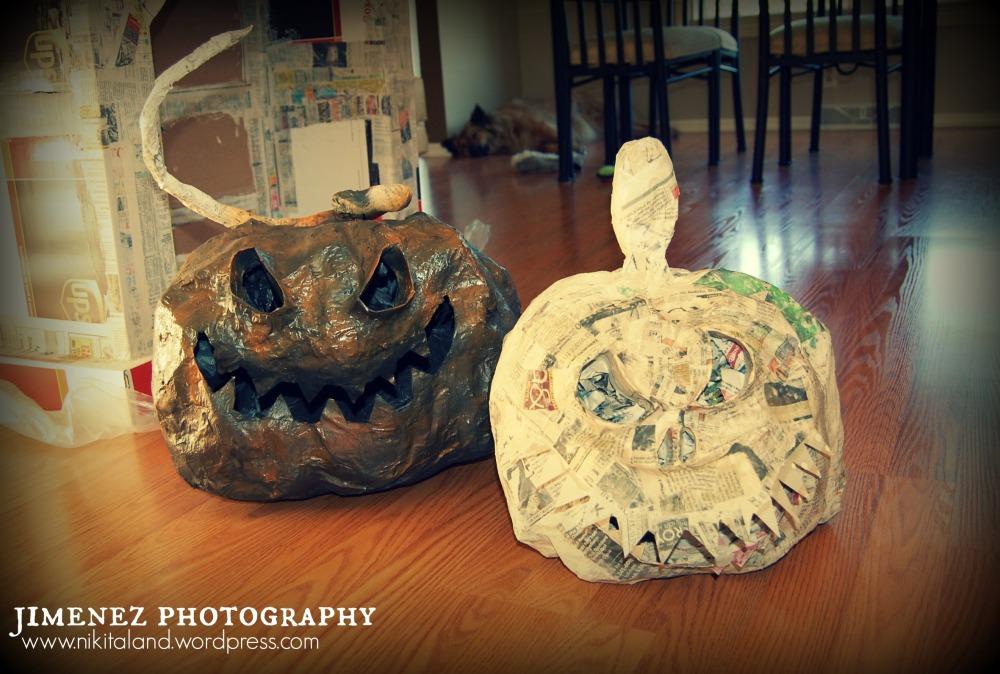 Paper Mache Halloween Projects (4/4)