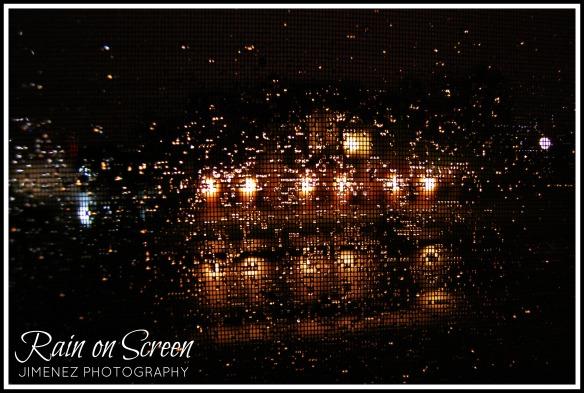 RAIN ON SCREEN