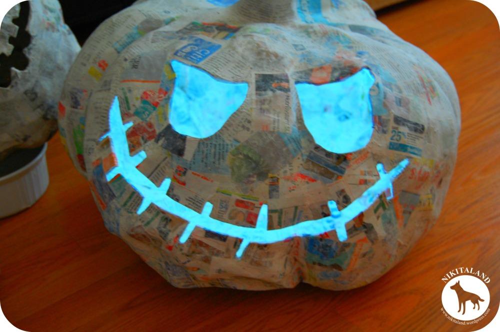 How to Make Paper Mache Pumpkins & More! (1/6)