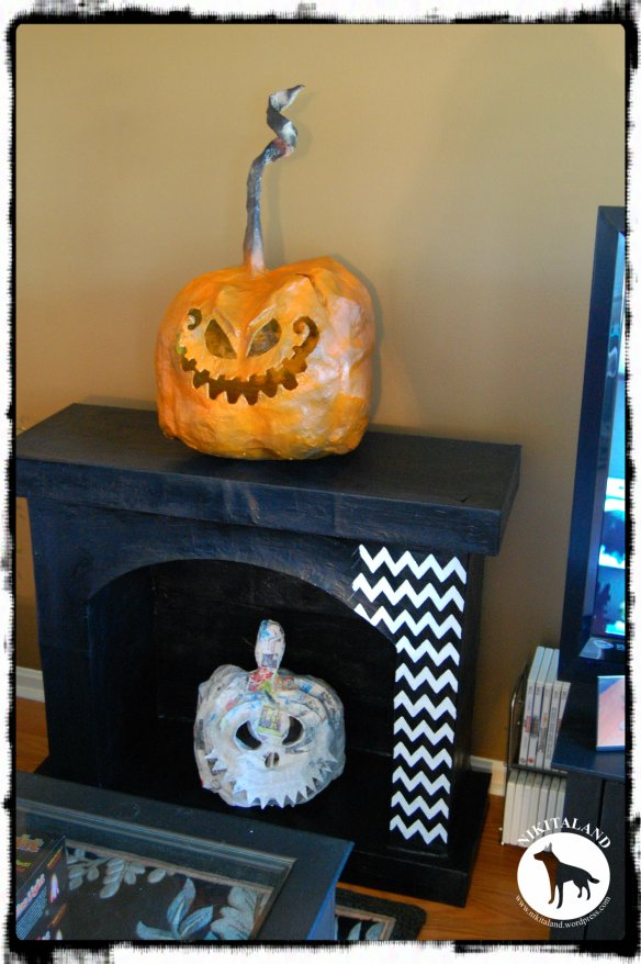 PUMPKIN NO 2 AND FIREPLACE