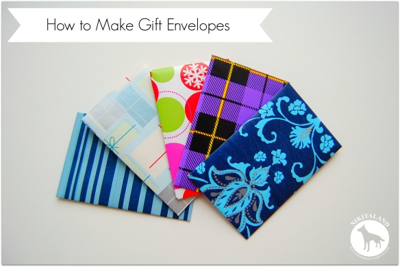 How to Make Little Gift Envelopes