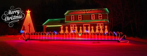 LIGHT SHOW HOUSE