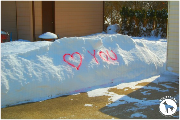 LOVE YOU IN THE SNOW