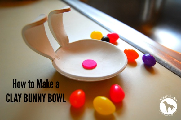 HOW TO MAKE A CLAY BUNNY BOWL
