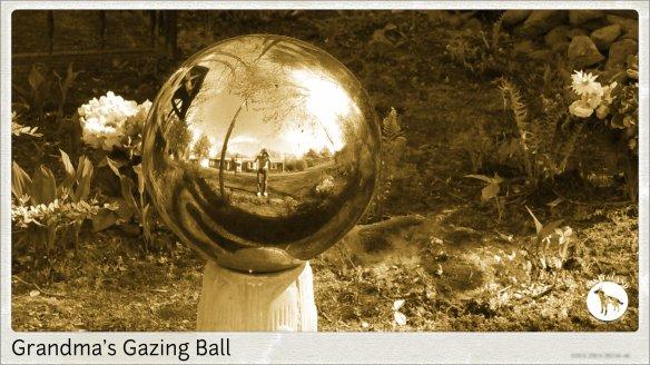 GRANDMAS GAZING BALL