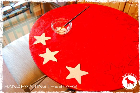 HAND PAINTING THE STARS