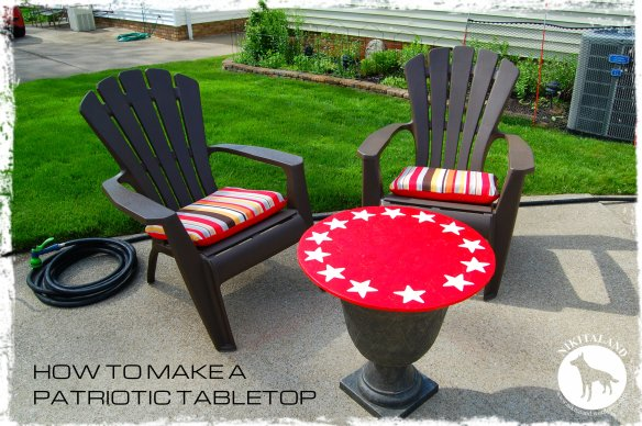 HOW TO MAKE A PATRIOTIC TABLETOP