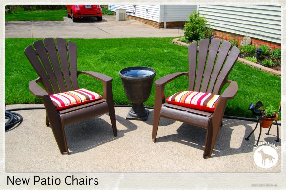 NEW PATIO CHAIRS
