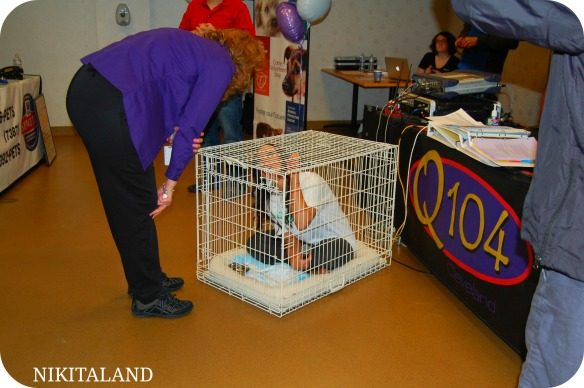 Q104 PERSONALITY IN CAGE