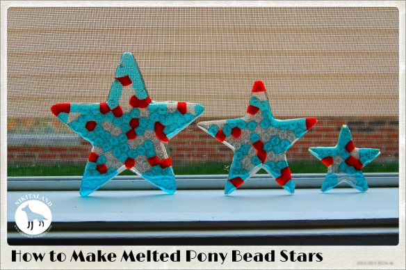HOW TO MAKE MELTED PONY BEAD STARS
