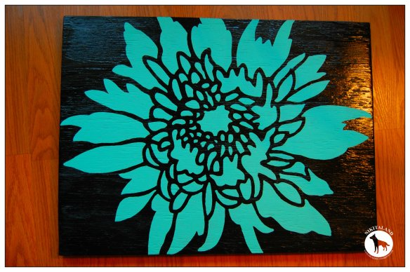 STENCILING A TABLE TOP4