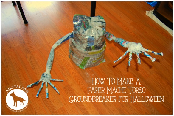 HOW TO MAKE A PAPER MACHE TORSO
