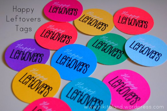 HAPPY LEFTOVERS TAGS FROM NIKITALAND