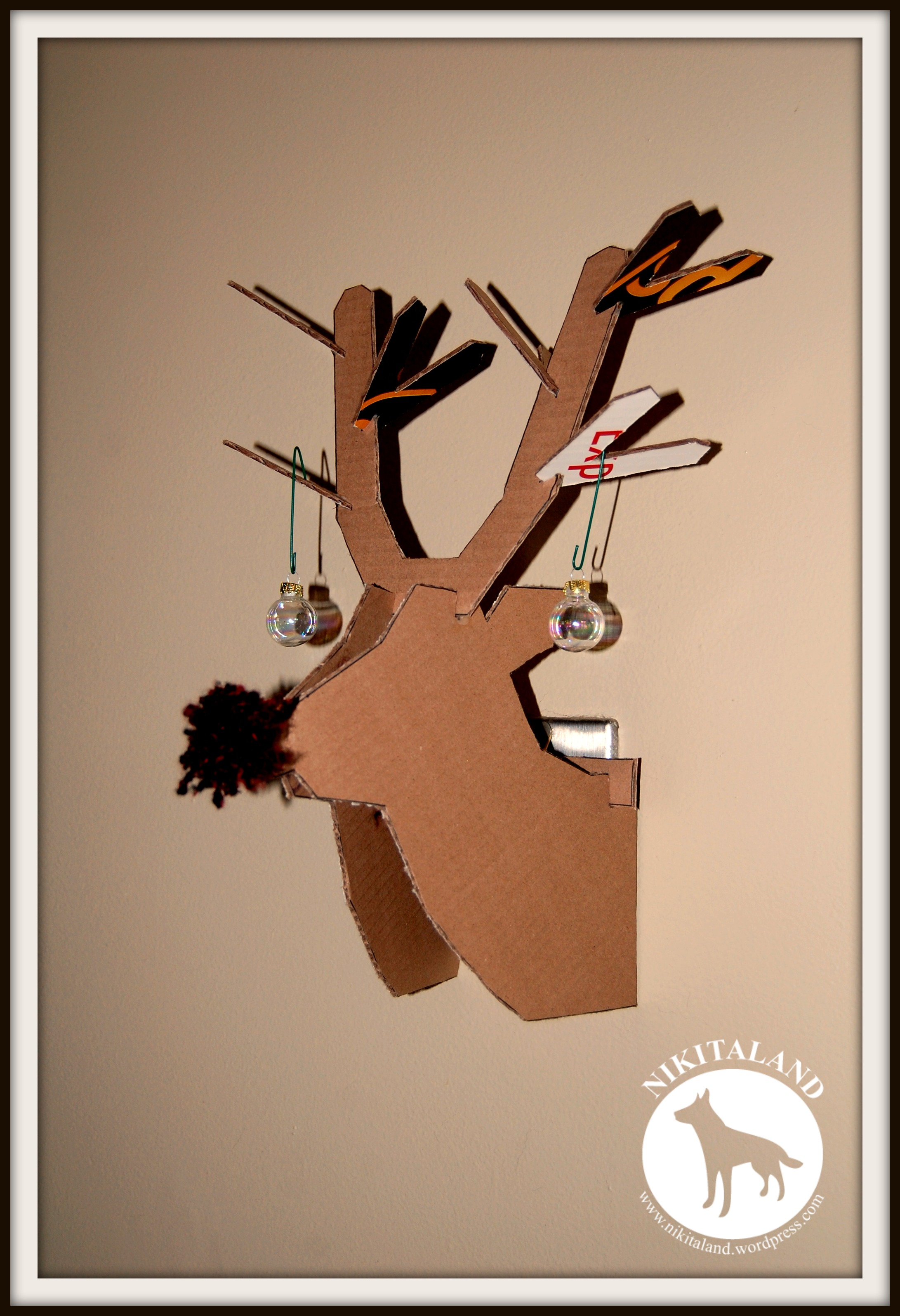 Recycled rudolph nikitaland cardboard rudolph pronofoot35fo Gallery