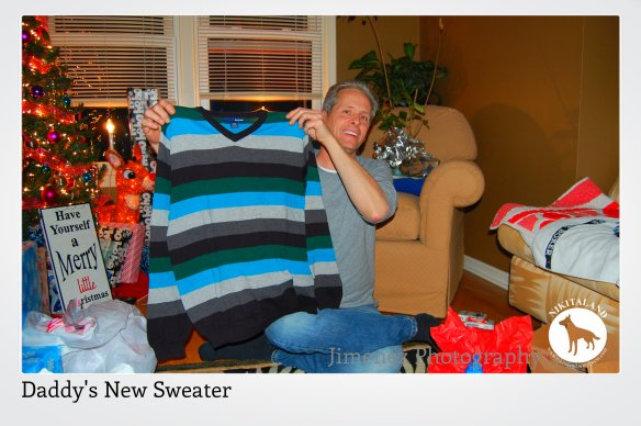DADDYS NEW SWEATER