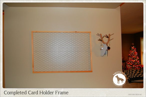 HOLIDAY CARD HOLDER6