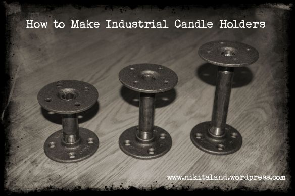 INDUSTRIAL CANDLE HOLDERS1