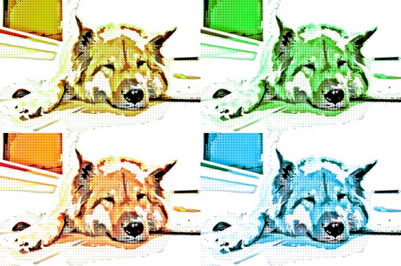 Popart Effect Used