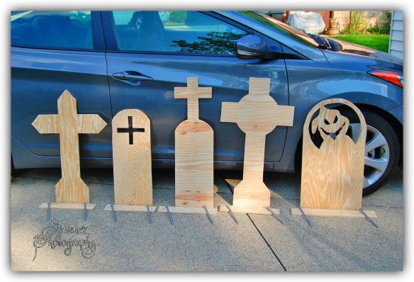 Tombstones Made by Val